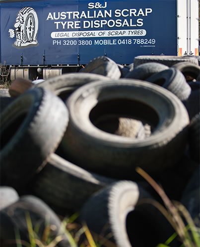 Australian Scrap Tyre Disposals