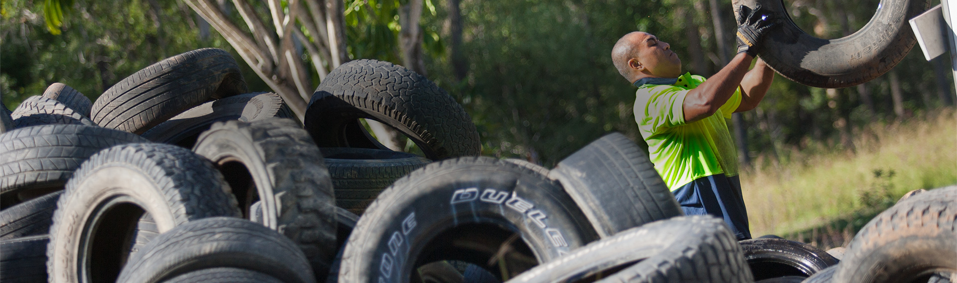 Waste Tyre Collection Services Brisbane - Australian Scrap Tyre Disposals